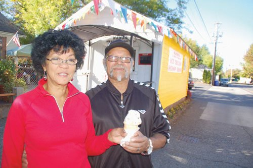 Patricia A. Trice and her husband, Fred Trice Jr., bring A Scoop of Heaven to ice cream lovers from their shop in the corner behind the U.S. Bank on Northeast Killingsworth and Martin Luther King Jr. Boulevard.