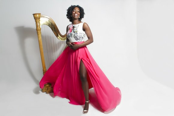 Harpist Brandee Younger has had a connection with the late, great jazz musician Alice Coltrane for some time.