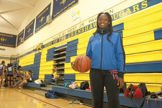 Armenia Pollard plays basketball at Crenshaw High School with a certain aggression that many girls do not have. She's naturally ...