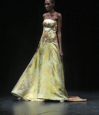 Spring 2016 collection by b Michael, presented at Harlem Stage.