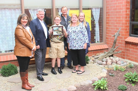 BHS freshman Trevor Mohrmann did the work as a project to earn his Eagle Scout rank.