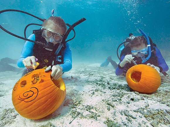 The Antelope Valley Desert Divers (AVDD) on Oct. 24 will present their annual Underwater Pumpkin Carving Contest from 9 to ...