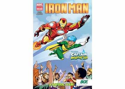 Baltimore Gas and Electric Company (BGE) in partnership with Marvel Custom Solutions recently announced that they will be distributing comic ...