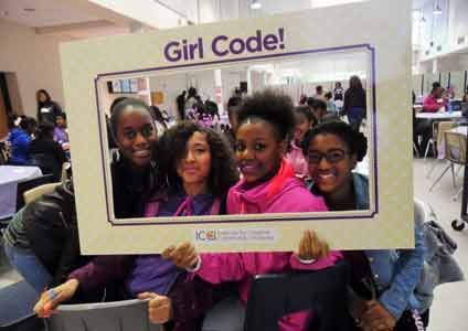 198 tweens and teens were registered to participate in a Girl Code symposium on Saturday, October 3, 2015 at Charles Herbert Flowers High School in Prince George's County, Maryland.