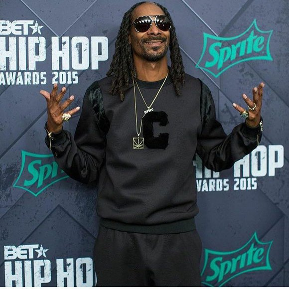 Flaming decorations falling from the ceiling of Snoop Dogg's party ended the night early.
