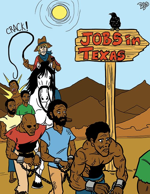 A Texas history book drew fire for characterizing as immigrants blacks who were brought to the United States as slaves.