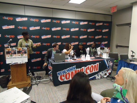 """According to the Comic Con website (NYCC.com), in the depiction of people of color in the world of comics, """"There ..."""