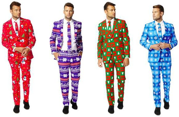 Macy's is encouraging men to have fun with their fashion, introducing a line of slim-fit suits from Dutch label, OppoSuits. ...