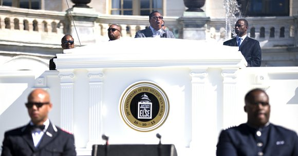 The leader of the Nation of Islam on Saturday told a crowd of approximately 1 million people to become more ...