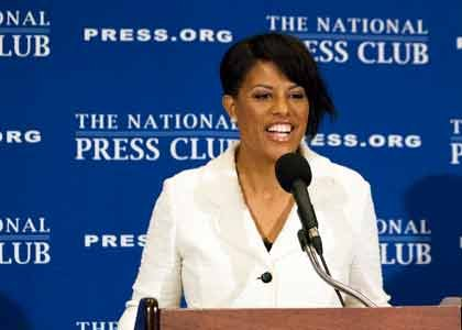 When Baltimore native and Mayor Stephanie C. Rawlings-Blake, 45, stepped to the podium at D.C.'s historical National Press Club in ...