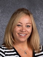 Susan Cunningham in her official staff photo from Plainfield North High School.