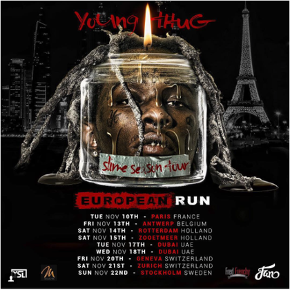 Slim Thug Tour Dates