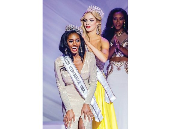 Desiree Williams is sporting a new crown — Miss Virginia USA. An assistant professor at Hampton University, Dr. Williams, 26, ...