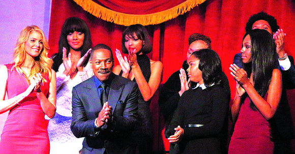 A star-studded lineup of comedians including Chris Rock, Dave Chappelle, George Lopez, Kathy Griffin and Arsenio Hall honored Eddie Murphy ...
