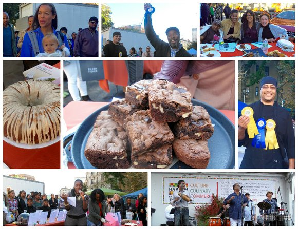 It was another fun community outing at Harlem Park to Park's annual Harlem Harvest Festival. Restaurants, vendors, adults, children, families ...