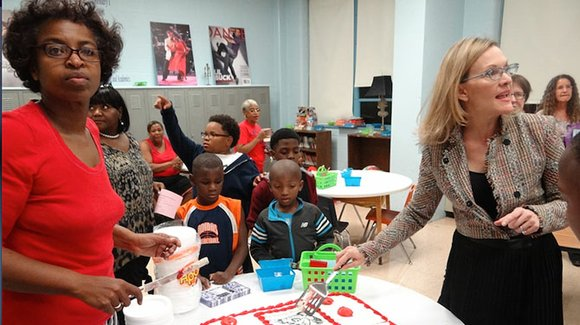 Dunbar Elementary opens Family Resource Center with an eye toward engaging parents by exposing them to the arts.