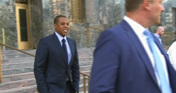 Jay Z told a jury Oct. 14 that he believes he has a valid license to use Arabic music featured ...