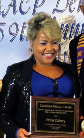 Debra DeBerry, Thurgood Marshall Award
