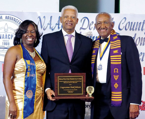 Rep. Hank Johnson, Medgar Wiley Evers Freedom Legacy Award