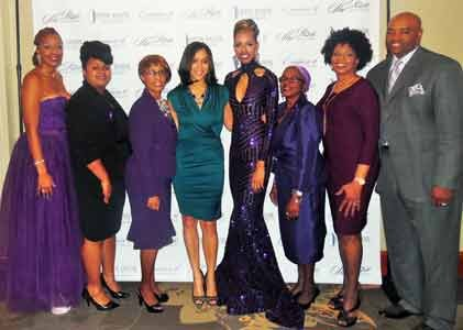Marilyn Mosby, Baltimore City State's Attorney, helped to honor survivors of domestic violence, during the 2015 She Rose Awards at ...