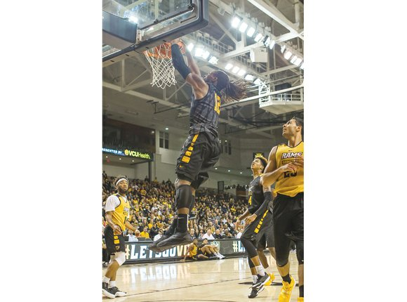 If dunks were donuts, Justin Tillman would be rich in sweet treats today. The 6-foot-7 Virginia Commonwealth University sophomore displayed ...