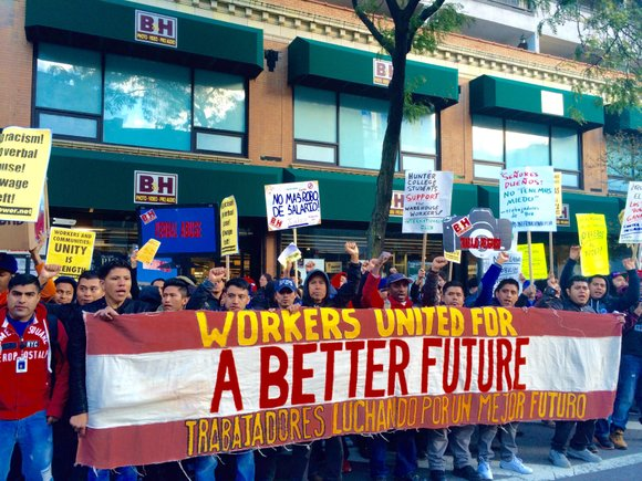 B&H Photo warehouse employees scored a major victory last week after voting to join a union.