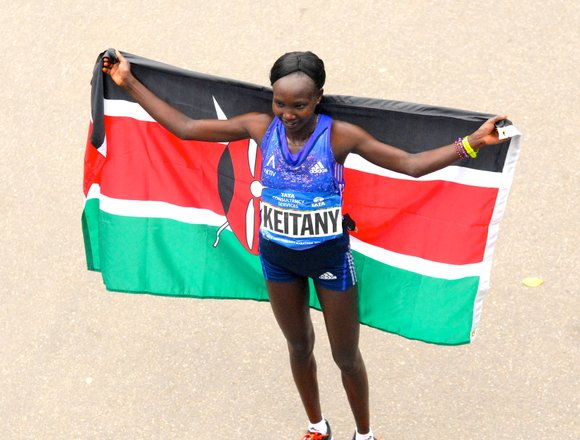 Mary Keitany, the defending NYC Marathon champion, brings an interesting question to mind.