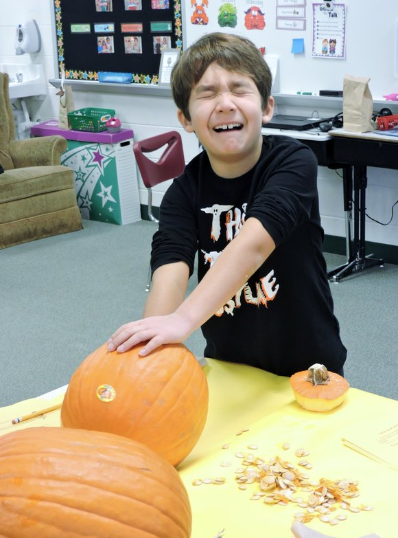 Smash and recycle Halloween jack-o'-lanterns and pumpkins and help the environment on Saturday, November 4, 2017 at Ira Jones Middle ...