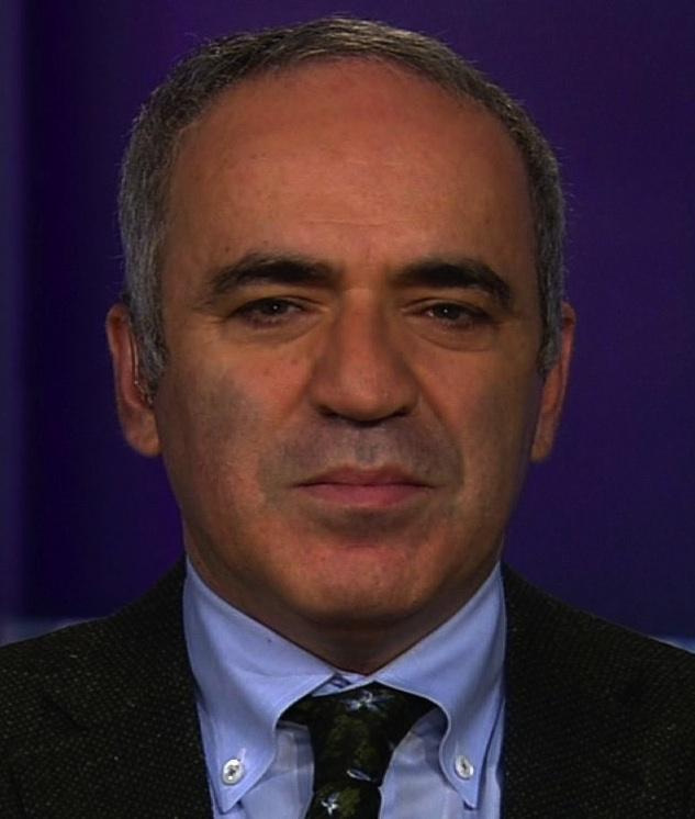 Kasparov U S Cannot Lead From Behind Houston Style