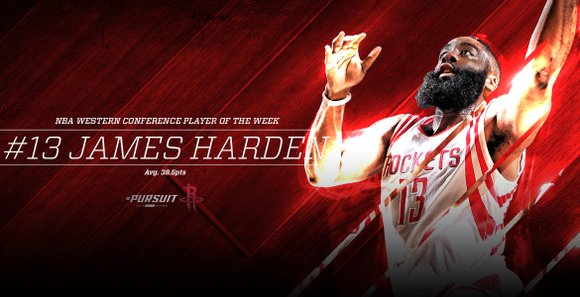 The Beard Averages 38.5 Points as Rockets Go 4-0