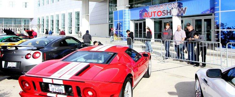 Houston Auto Show One Ticket Rides January - Car show houston