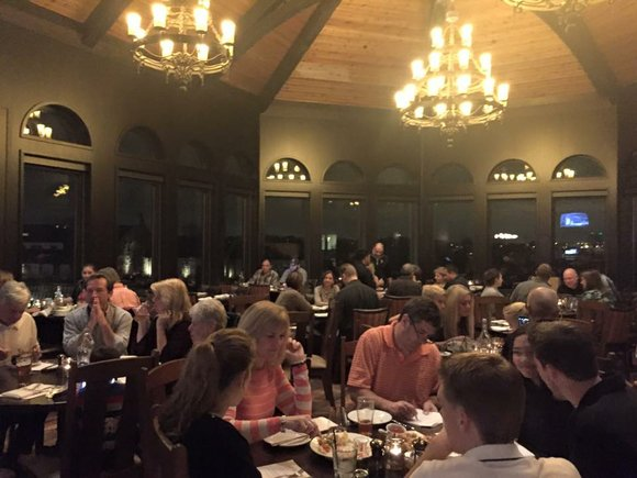 The new restaurant is the centerpiece of the newly built clubhouse at Mistwood Golf Club on Renwick Road.