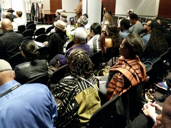 "The Caribbean Cultural Center African Diaspora Institute held a one-day conference, ""The Art of Justice"", dedicated to art's role in ..."