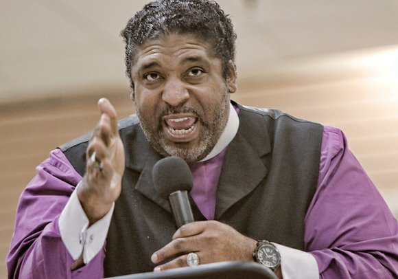 """This is no time for foolishness,"" said the Rev. William J. Barber II in an energizing message at the Richmond ..."