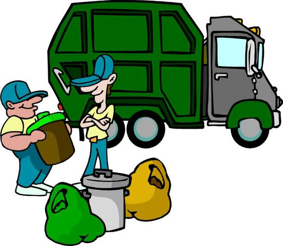 Garbage usually collected on Thursday and Friday will be postponed one day because of the holiday.