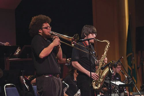 You're invited to come and listed to the great big band jazz students at Clark College are creating.