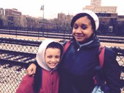 Brittany Medlin, of Richton Park, Ill., regularly rides the Metra train with her 9-year-old son, Christopher.  Medlin, 28, says the latest fare increase is too high.