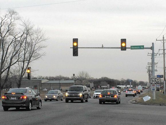 While the work between Renwick Road and Route 59 is nearing completion, the state will start on the two mile ...