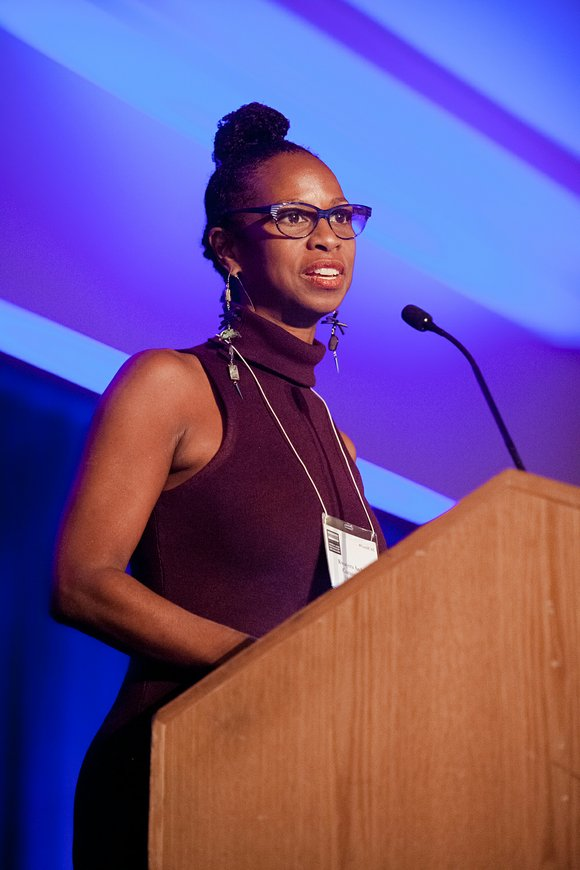 Jamaican-American nonprofit executive Kwayera Archer-Cunningham was honored.