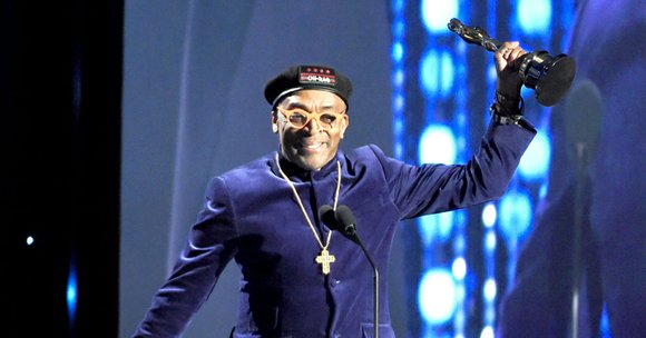 Spike Lee told an audience of entertainment luminaries that it's easier for a Black person to become president of the ...