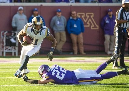 The St. Louis Rams boast one of the best running games in the NFL. They are averaging 130.9 yards rushing ...