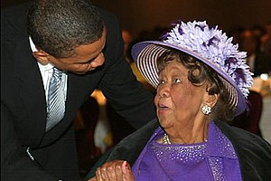 Dorothy Height, the famed civil rights activist and former president of the National Council of Negro Women who died in 2010, was renowned for her extravagant outfits and hats. (Courtesy of NCNW)