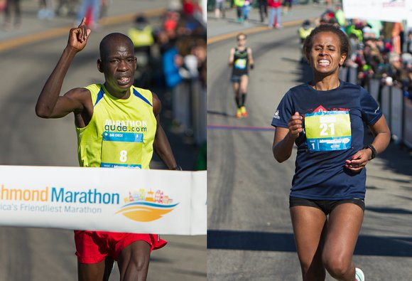 Runners from Kenya and Ethiopia were first to the finish line last Saturday in the 38th Annual Anthem Richmond Marathon. ...