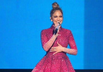 Jennifer Lopez hosted and performed at Sunday night's show