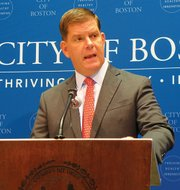 Mayor Martin Walsh said workforce development is a critical tool in fighting inequality in Boston.