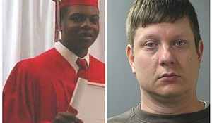 Laquan McDonald (left) and former Chicago police officer Jason Van Dyke