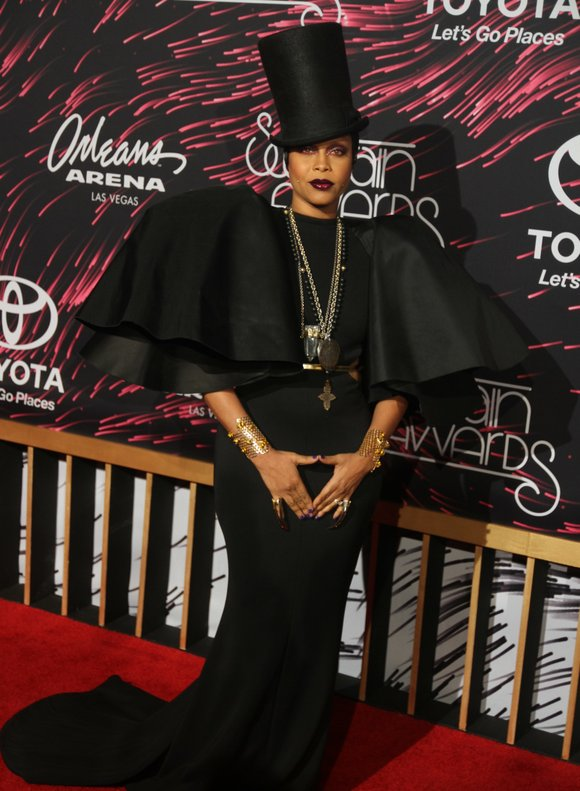 "On the initial announcement that ""The Hippest Chick,"" Erykah Badu was hosting the 2015 Soul Train Awards, hints of skepticism ..."