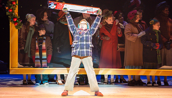Theatre Under The Stars (TUTS) welcomes the clever adaptation of the 1983 comedy classic A Christmas Story – The Musical ...