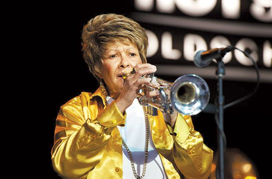 Cynthia Robinson, groundbreaking trumpeter and a co-founder of Sly and the Family Stone