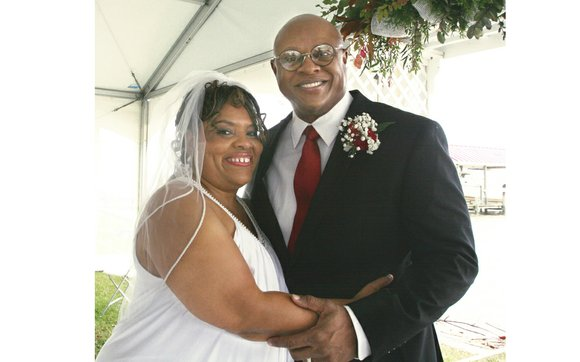 Yolanda Gail Fields and John Wesley Witherspoon are wed. The couple exchanged vows during a 7 a.m. ceremony Saturday, Sept. ...